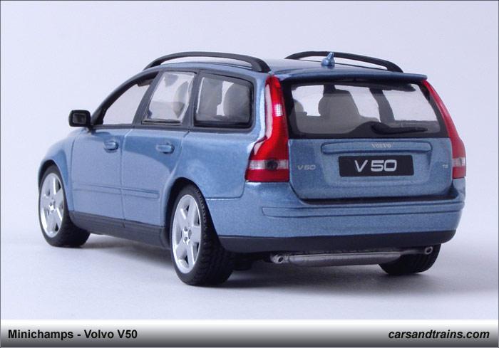 cast King Minichamps PMA 2005 Volvo V50 T5 Blue