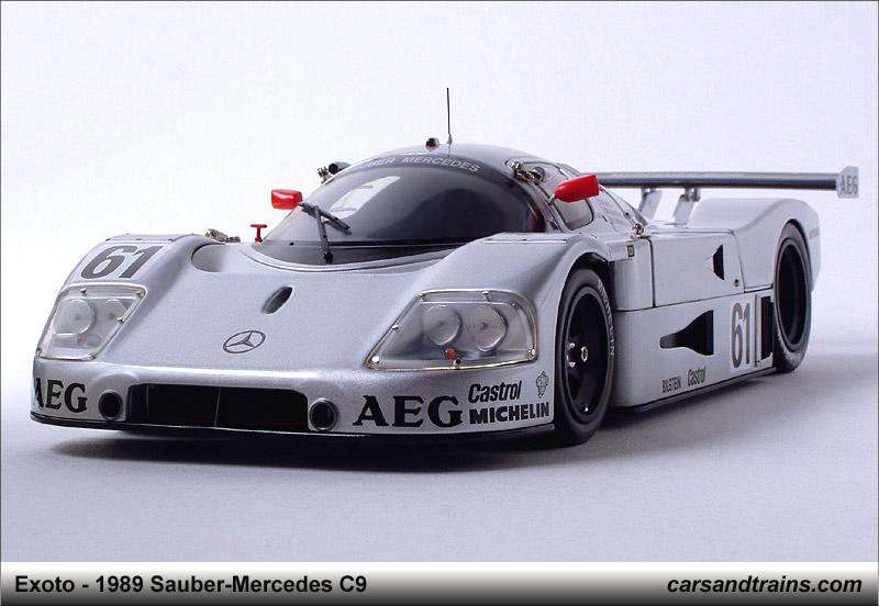 Diecast King Exoto Mercedes Sauber C9 61 Le Mans