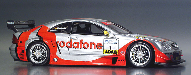 Car With Road >> Diecast King Maisto Mercedes CLK DTM Vodafone 1