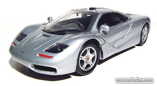 cast King Maisto McLaren F1 Silver