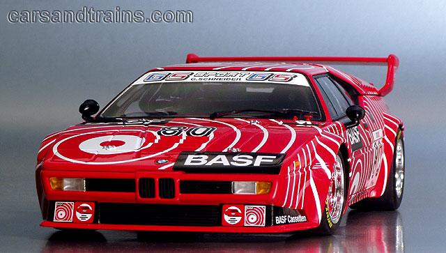 Diecast King PMA BMW M1 Procar Basf Stuck