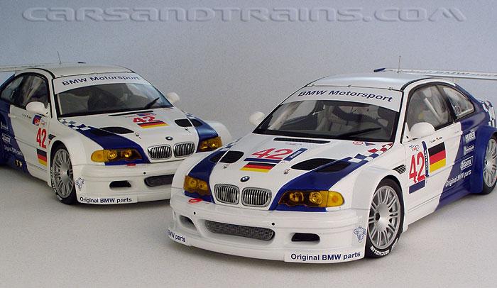 Diecast King PMA Minichamps BMW M3 GTR 2001 European Le